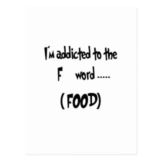Addicted To The F Word Postcard