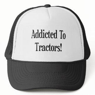 Addicted To Tractors Trucker Hat