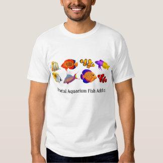 Addicted to Tropical Aquarium Fish Customizable T- T Shirt