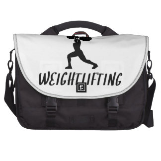 Addicted To Weightlifting Bag For Laptop