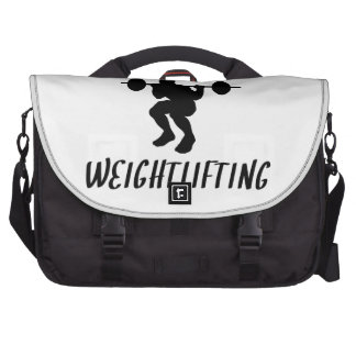 Addicted To Weightlifting Commuter Bag