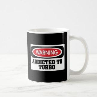 Addicted Turbo Classic White Coffee Mug