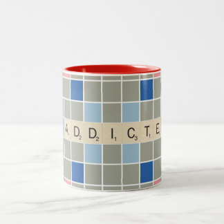 Addicted Two-Tone Coffee Mug