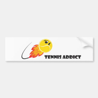 Addicted you the Tennis Bumper Sticker