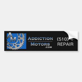 Addiction Motors Bumper Sticker Car Bumper Sticker
