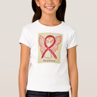 Addiction Recovery Awareness Ribbon Angel Shirt