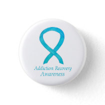 Addiction Recovery Awareness Ribbon Custom Pin