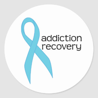 Addiction Recovery Awareness Support Stickers