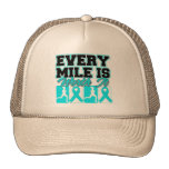 Addiction Recovery Every Mile is Worth It Trucker Hat