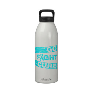 Addiction Recovery Go Fight Cure Drinking Bottle
