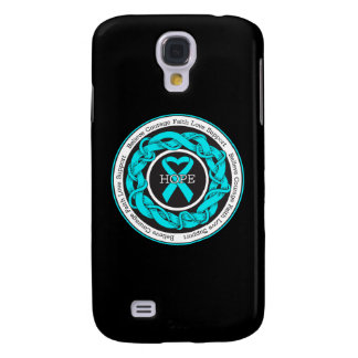 Addiction Recovery Hope Intertwined Ribbon Galaxy S4 Case
