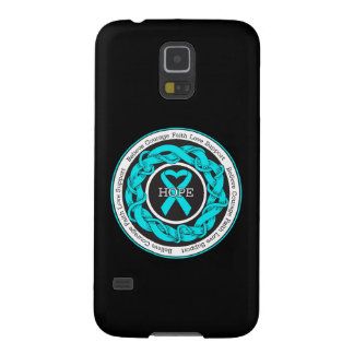 Addiction Recovery Hope Intertwined Ribbon Galaxy S5 Case