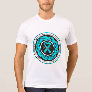 Addiction Recovery Hope Intertwined Ribbon Tees