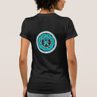 Addiction Recovery Hope Intertwined Ribbon T Shirt