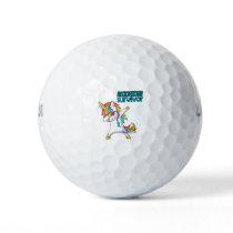 ADDICTION RECOVERY Survivor Stand-Fight-Win Golf Balls
