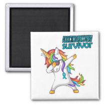 ADDICTION RECOVERY Survivor Stand-Fight-Win Magnet