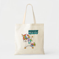 ADDICTION RECOVERY Survivor Stand-Fight-Win Tote Bag