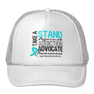 Addiction Recovery Take A Stand Against Addiction Trucker Hat