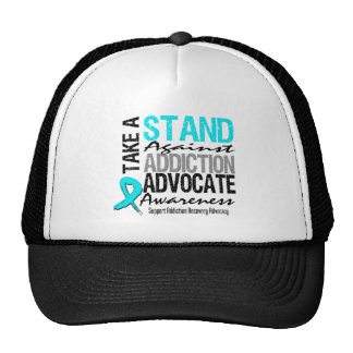 Addiction Recovery Take A Stand Against Addiction Hats