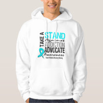 Addiction Recovery Take A Stand Against Addiction Hoodie
