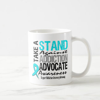 Addiction Recovery Take A Stand Against Addiction Coffee Mugs
