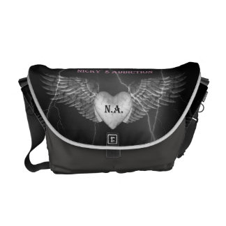 Addiction Tribal Wings Messengerbag Courier Bags