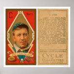 Addie Joss Cleveland Baseball 1911 Print