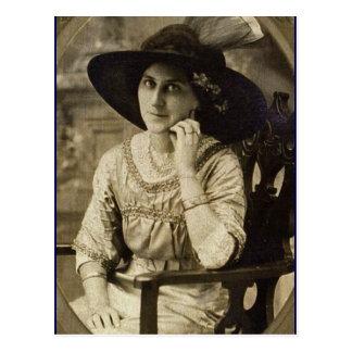 Addie Zarfos-Hoffman, león rojo, Pennsylvania c190 Tarjeta Postal