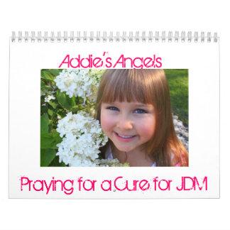 Addie's angels calendar