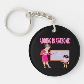 Adding Is Awesome 2 Keychain