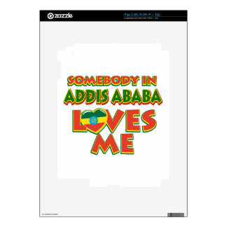 Addis Ababa City Designs iPad 2 Decal