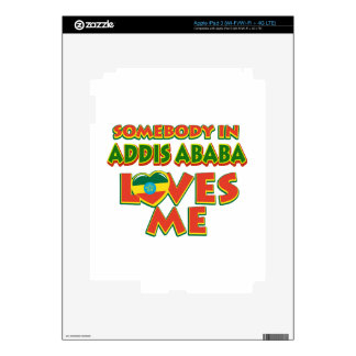 Addis Ababa City Designs Skins For iPad 3