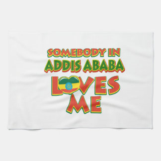 Addis Ababa City Designs Towels