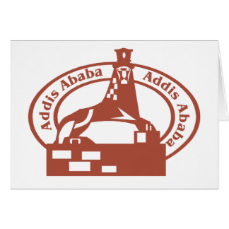 Addis Ababa Stamp Card