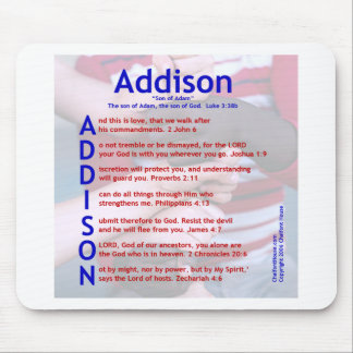 Addison Acrostic Mousepad