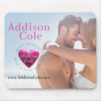 Addison Cole, Sweet with Heat Couple Mouse Pad
