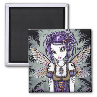 """Addison"" Dragonfly Fairy Art Magnet"