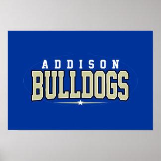 Addison High School; Bulldogs Poster