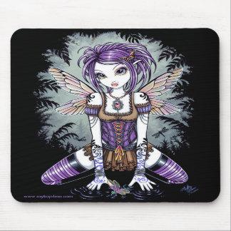 """Addison"" Misty Dragonfly Fairy Mousepad"