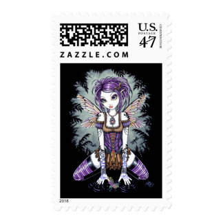 """Addison"" Misty Dragonfly Fairy Postage"