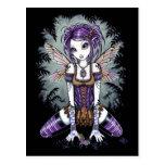 """Addison"" Misty Dragonfly Fairy Postcard"