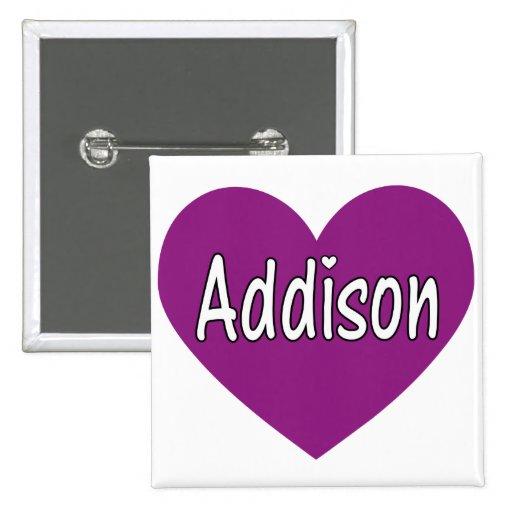 Addison Pin Cuadrada 5 Cm
