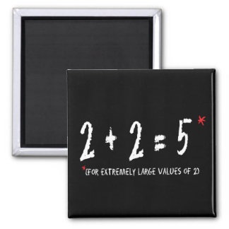 Addition 2 Inch Square Magnet