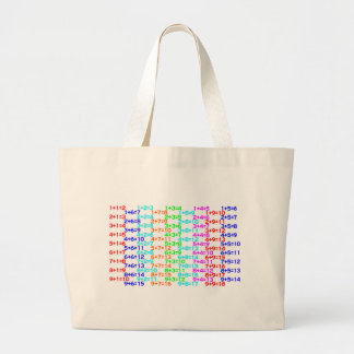 Addition Memorize Aid Large Tote Bag