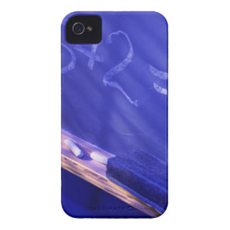Addition on elementary school chalkboard iPhone 4 Case-Mate case