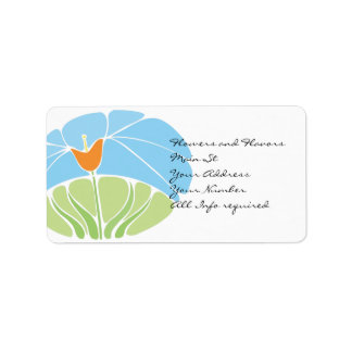 Address Cards Label