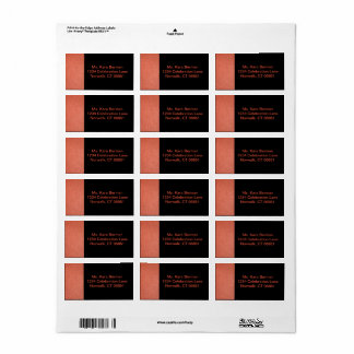 Address Label for Hoops Collection II