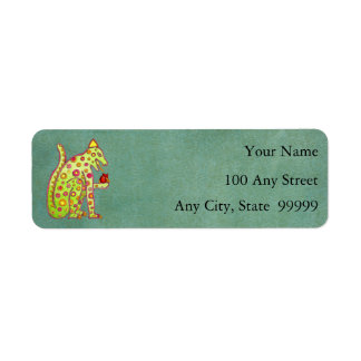 Address Label Template - Small