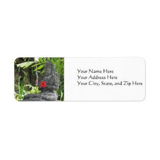 Address Labels:  Bali Stature Label