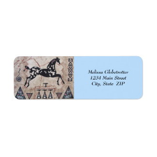 Address Labels--Native American Art Label